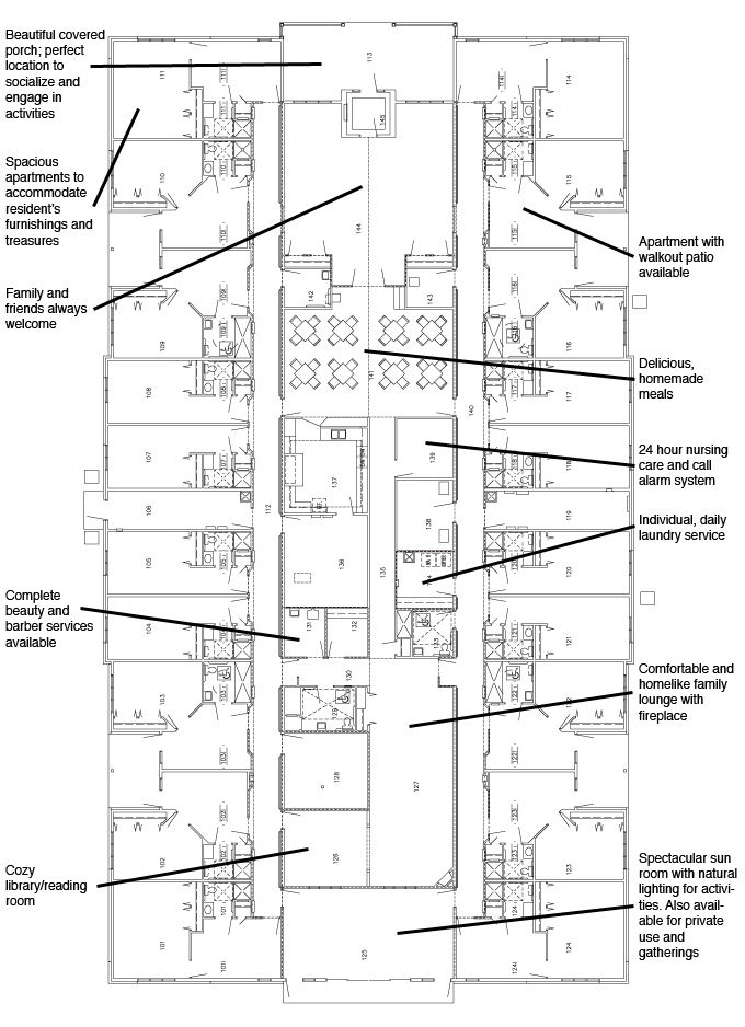Room floorplans